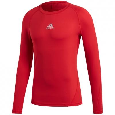 Tricou Camasa Men's t- adidas Alphaskin Sport LS red CW9490 adidas teamwear