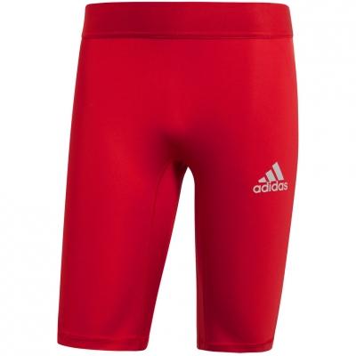 Pantalon scurt Combat Adidas Alphaskin Sport Short Tight , red CW9460 adidas teamwear