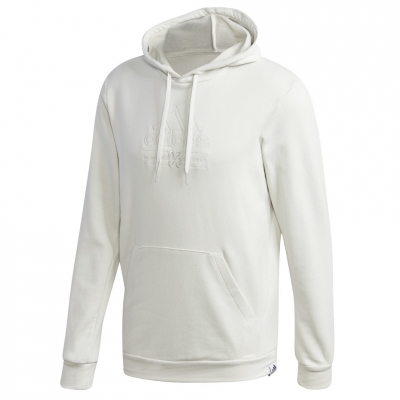 Men's adidas Brilliant Basics Hooded white GD3833