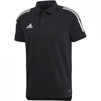 Adidas Condivo 20 Polo black and white ED9249 adidas teamwear