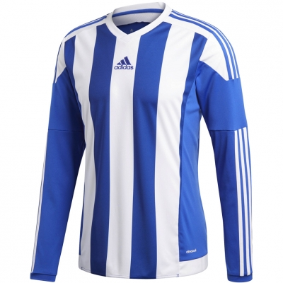 Adidas STRIPED 15 JSY LS JR 's blue and white S17190 copil adidas teamwear