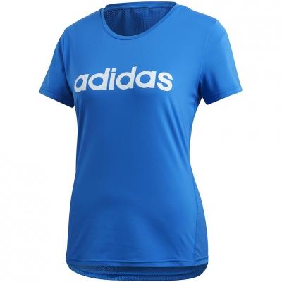 Camasa Adidas D2M Logo 's blue FL9230 dama