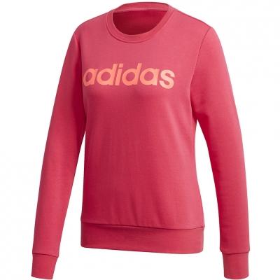 Adidas Essentials Linear 's Jersey Crewneck pink GD2955 dama Adidas