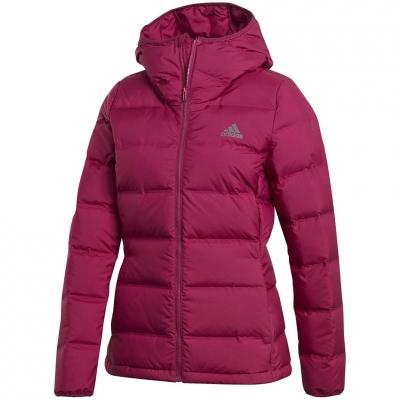 's adidas Helionic Down Hooded pink GM5345 dama