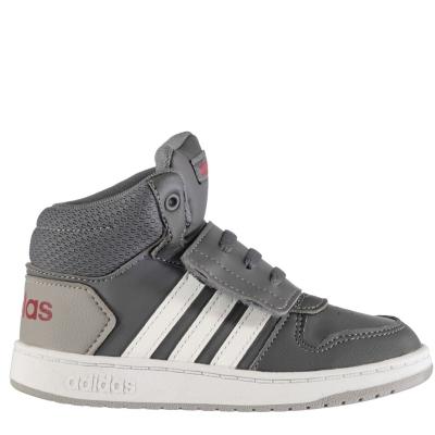 Pantof sport adidas Hoops High Top baietel bebelus