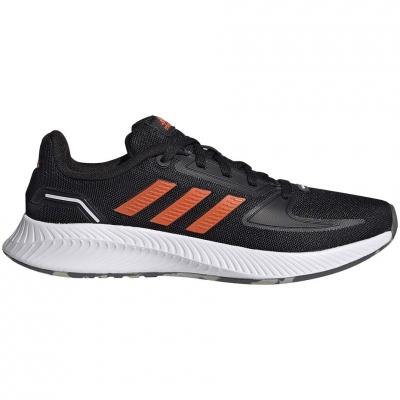 Pantof adidas Runfalcon 2.0 K 's black-orange FY9500 copil
