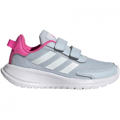 Pantof Adidas Tensaur Run C 's gray-pink FY9197 copil
