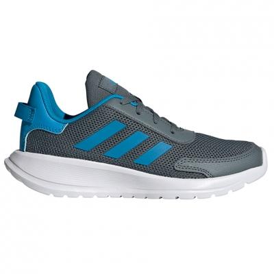 Pantof Adidas Tensaur Run K 's gray-blue FY7289 copil