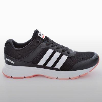 Adidasi alergare Adidas Cloudfoam Vs City W Femei negru roz