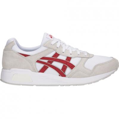 Pantof sport panza Pantof Men's Asics Lyte white red 1201A006 101