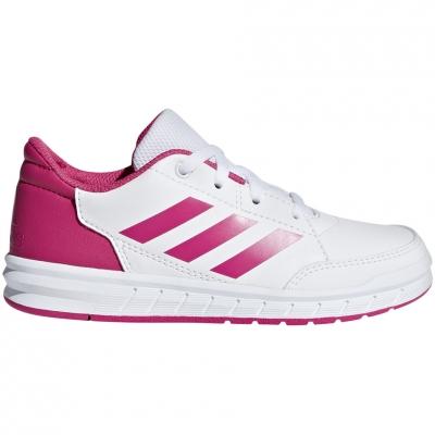 Pantof 's adidas AltaSport K white pink D96870 copil