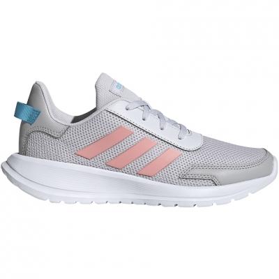 Pantof Adidas Tensaur Run K 's gray-pink EG4132 copil