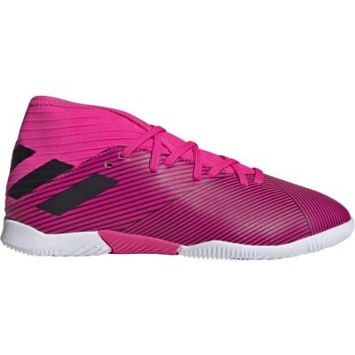 Pantof Minge Fotbal Adidas Nemeziz 19.3 IN pink F99946 copil