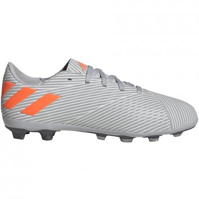 Pantof Minge Fotbal Adidas Nemeziz 19.4 FxG JR gray EF8305