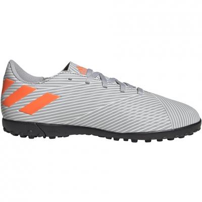Pantof Minge Fotbal Adidas Nemeziz 19.4 TF JR gray EF8306