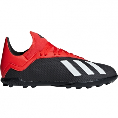 Pantof Minge Fotbal Adidas X 18.3 TF JR BB9402