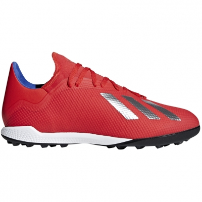Pantof Minge Fotbal adidas X 18.3 TF red BB9399