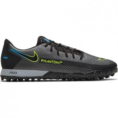 Pantof Minge Fotbal Nike React Phantom GT Pro TF black CK8468 090