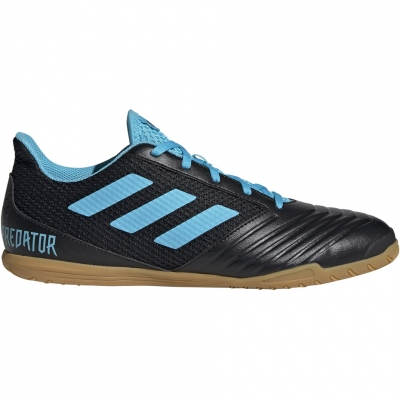 Pantof Minge Fotbal Adidas Predator 19.4 IN Sala black and blue F35631