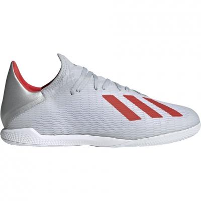 Pantof Minge Fotbal adidas X 19.3 IN gray F35370