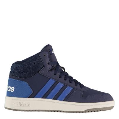 Pantof sport adidas Hoops Mid 2.0 High Top copil baietel