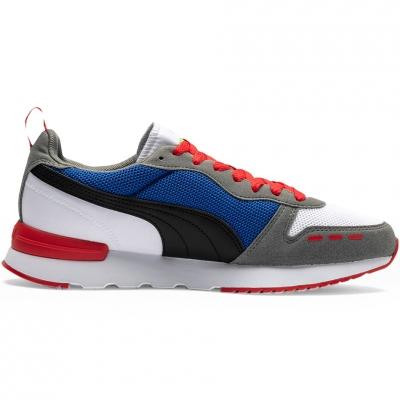 Pantof Men's Puma R78-white-blue-red-black 373117 10