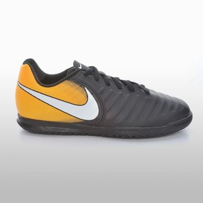 Adidasi sala Nike Tiempox Rio Iv Ic Barbati negru portocaliu