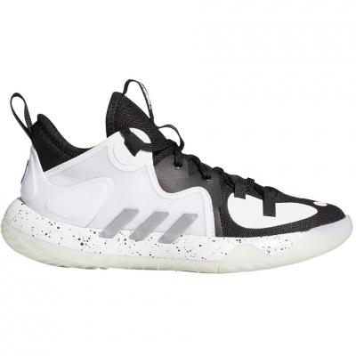 Pantof 's adidas Harden Stepback 2 J white and black FZ1545 copil
