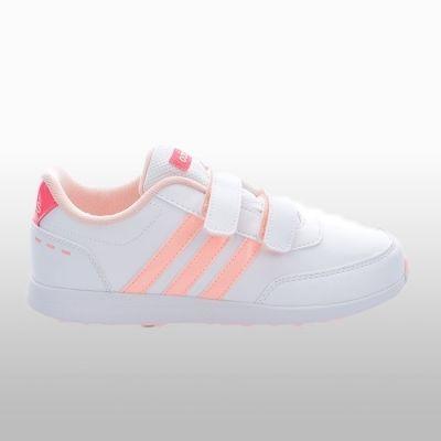 Adidasi sport alb cu roz adidas Vs Switch 2.0 Cmf C Fetite