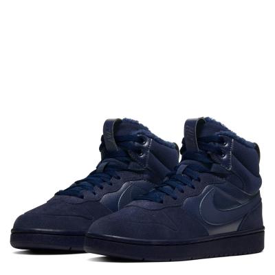 Pantof sport Nike Court Borough Winter copil baietel