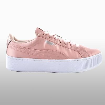 Pantofi sport roz Puma Vikky Platform Ep Femei