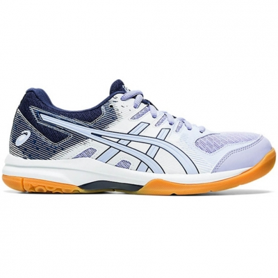 Pantof Asics Gel Rocket 9 's volleyball white and purple 1072A034 103 dama