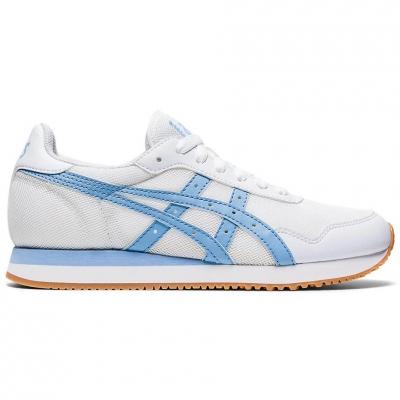 Pantof Asics Tiger Runner 's white blue 1192A160 102 dama