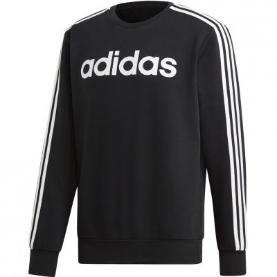 Men's adidas Essentials 3S Crew FL black DQ3084
