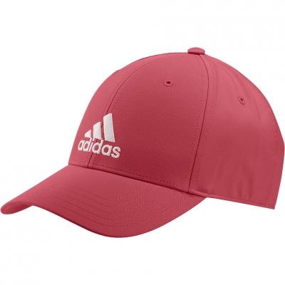 Men's Baseball Lightweight Embroidered Logo OSFM red GM6263 Adidas