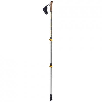 Ferrino Creek Black-Yellow Nordic Walking Poles