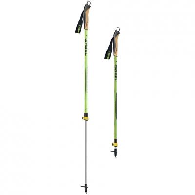 Trekking poles Ski Touring Gabel Altaquota Winter FL lime