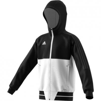 Bluza trening adidas TIRO 17 JR black and white BQ2787 adidas teamwear