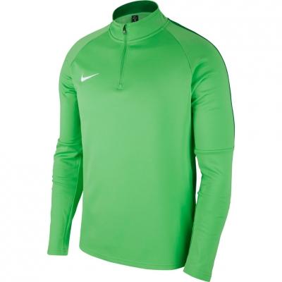 Bluza trening Nike Dry Academy 18 Drill Top LS green 893624 361