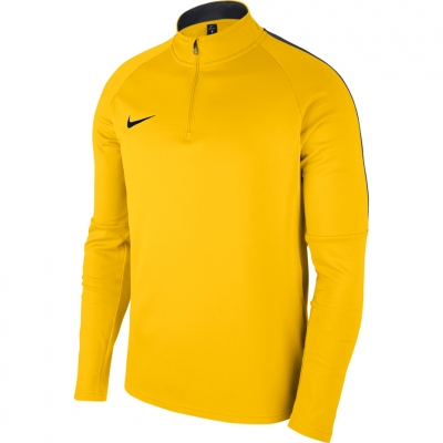 Bluza trening Nike Dry Academy 18 Drill Top LS yellow 893624 719