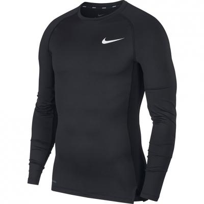 Nike NP Top LS Tight Men's Black Black BV5588 010