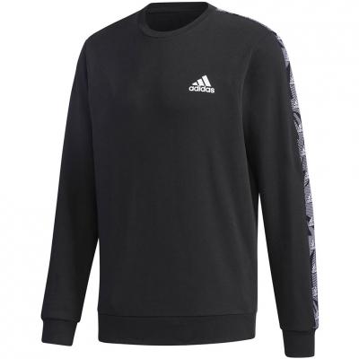 Bluza trening Adidas Essentials Tape Black GD5448