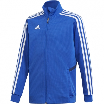 Bluza trening adidas Tiro 19 Training JR blue DT5274 adidas teamwear