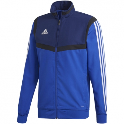 Bluza trening adidas Tiro 19 PRE JKT blue DT5266 adidas teamwear