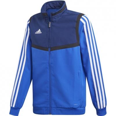 Bluza trening adidas Tiro 19 Presentation JKT JR blue DT5268 adidas teamwear