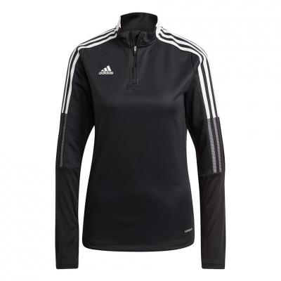 Bluza trening adidas Tiro 21 Training 's Top black GM7318 dama adidas teamwear