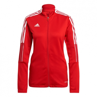 Bluza trening Adidas Tiro 21 Track 's red GM7305 dama adidas teamwear