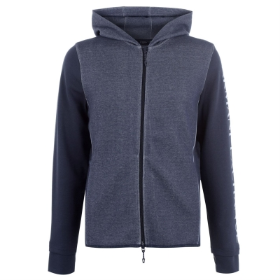Bluza trening Armani Exchange Logo Zip Hooded