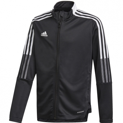 Bluza trening Jacheta for adidas Tiro 21 Track Youth black GM7314 copil adidas teamwear