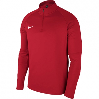 Bluza trening for Nike Dry Academy 18 Dril LS Top red 893744 657 copil copil